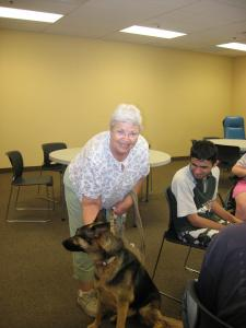 Pet Therapy-Kathy Hershey Support DEC Programs
