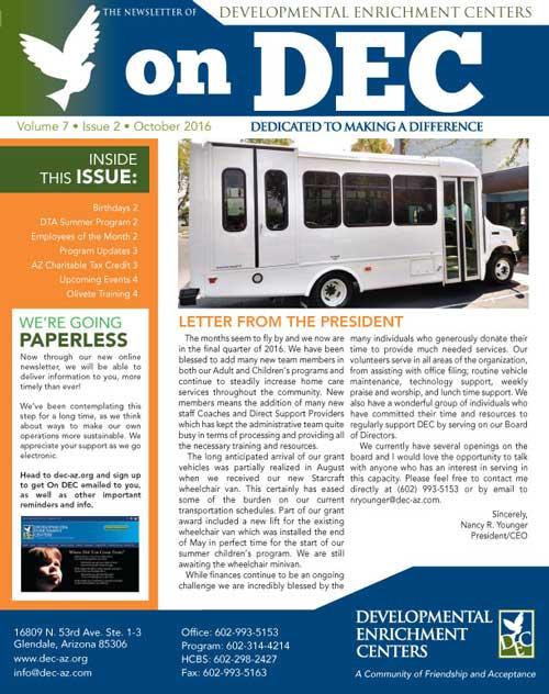 DEC Newsletter